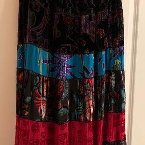 Chico's Size 1 full length skirt